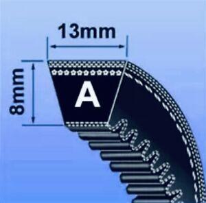 AX SEC V BELT ( AX SECTION BRANDED 13 x 8MM V BELT ) - CHOOSE SIZE IN INCHES)