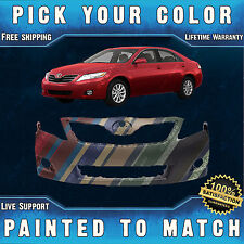 NEW Painted To Match- Front Bumper Cover for 2010-2011 Toyota Camry USA LE XLE