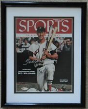 Ted Williams Autographed Sports Illustrated Cover