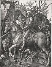 "Albrecht Durer: Knight, Death & Devil Painting - 8""x10"" Canvas Fine Art Print"