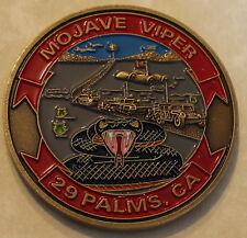 29 Palms California Mojave Viper MCAGCC Marine Challenge Coin