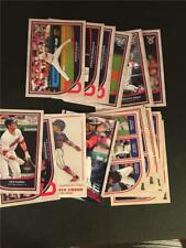 2018 Topps Big League Cleveland Indians Master Team Set 20 Cards Inserts