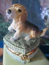 beagle trinket box adorable