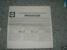 Airfix 1/72 Phantom Instruction Sheet