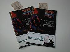 2012 The Second City 2 Cincinnati Play House in the Park Program+Ticket Stub Vtg