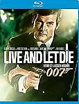 Live and Let Die Blu-ray 2012 Region 1 Roger Moore Jane Seymour David Hedison