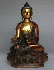 Exquisite Tibetan Buddhism Bodhisattva Sakyamuni Buddha Statue NR