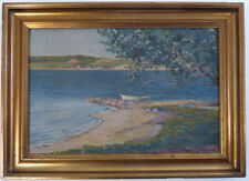 impressionniste, paysage côtier 1918