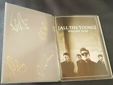 All The Young - Welcome Home CD (2012) CD Booklet - AUTOGRAPHED / SIGNED