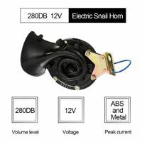 280DB 12V Elektrische Bull Air Horn Super Laut Single Luft Horn Fit Auto Lkw Zug