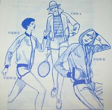 STRETCH & SEW PATTERN #1001 Action Wear Jackets & Shorts - MISSES WOMENS Uncut!