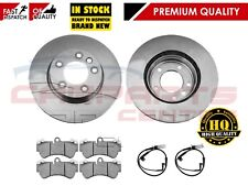 FOR PORSCHE CAYENNE 955 957 3.2 3.6 FRONT BRAKE DISCS PADS WIRES 2003-2010