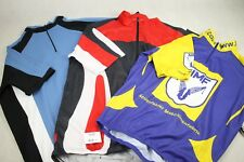 "3 x 44"" Chest Cycling Jerseys Vintage Short Sleeve Shirts Pre-owned (530)"
