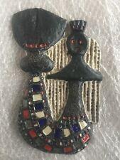 AMPHORA PERIGNEM Fat lava  Mermaid ceramics Vandeweghe POTTERY tieberghien