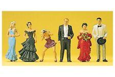 Preiser 10331 HO 1/87 Invités au Marriage - Wedding Guests