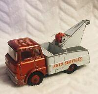 Vintage Dinky Crash Truck Auto Services 434 - Circa 1960's