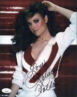 REBECCA HOLDEN Signed 8x10 KNIGHT RIDER Photo In Person Autograph JSA COA Cert