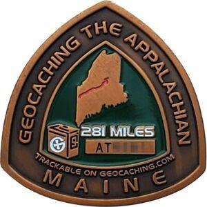 Appalachian Trail 2008 Geocoin - Maine, Activated