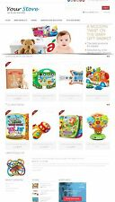 Baby Products Store - Amazon Affiliate/Dropship Website on AutoPilot + Free Host