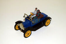 "DINKY TOYS GB #475 (1963) - FORD MODEL ""T"" CON PASSEGGERI - BLU/NERO - NEAR MINT"