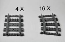 LEGO® Train Tracks for remote control trains Part No 53400 and 53401