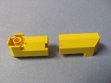 LEGO 6043 @@ Brick, Modified Octagonal 2 x 2 x 3 1/3 Corner (x2) @@ YELLOW JAUNE