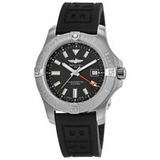 New Breitling Avenger Automatic GMT 43 Black Dial Men's Watch A32397101B1S1