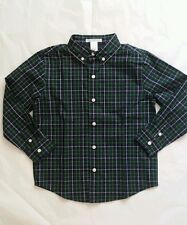 Janie and Jack boys Checked shirt Holiday size 5 new $36