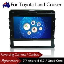 """9"""" Android 6.0 Quad Core  Car DVD GPS Stereo Player For Toyota Land Cruiser 2016"""