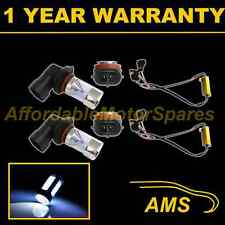 2x H11 WHITE 4 CREE LED FENDINEBBIA Lampada Spot Lampadine Auto KIT XENON ff502801