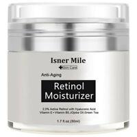 Tagescreme Anti Aging Cream Retinol Creme 2.5% Vitamin A 5% Hyaluronsäure
