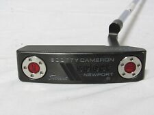 """Used Titleist Scotty Cameron Select Newport 2 33"""" Putter W/Cover Cameron Putter"""