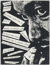 Handbill Cityspace Remembering Dr Martin Luther King Jr / 1986