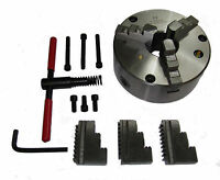 RDG TOOLS 200MM 3 - JAW SELF CENTERING LATHE CHUCK D13 CAMLOCK PINS COLCHESTER