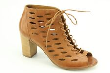 $359 NEW Paul Green Catalina Cuoio Leather Booties sz 10 / 7.5 Austria 6472