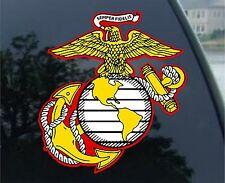 "U.S. Marine Corps Semper Fidelis Car Decal / Sticker 2.5"""