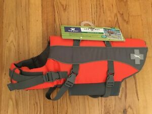 NEW Top Paw Adjustable Dog PFD Life Jacket LARGE 55-85 Lbs- 100% to Pet Rescue
