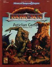 DSQ3 DARK SUN ASTICLIAN GAMBIT EXC+! AD&D D&D TSR Dungeons Dragons 2412 Module