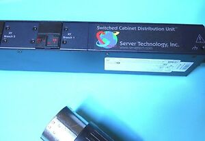 SERVER TECHNOLOGY CW-24VDV454A1 POWER CONTROL UNIT 240V 24 OUTLET NEW IN BOX