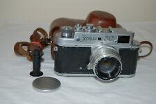 Zorki - 3C Vintage 1955 cámara telemétrica soviético Júpiter - 8 Lente. 5504625. venta de Reino Unido