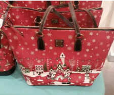 Disney Mickey Mouse and Friends Holiday Tote by Dooney & Bourke