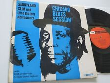 SUNNYLAND SLIM Little Brother Mongomery CHICAGO BLUES SESSION 77 Records ORIG.
