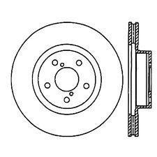 Disc Brake Rotor-Premium Rotor Centric 120.47024CRY fits 05-09 Subaru Legacy