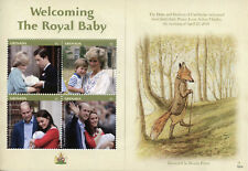 More details for grenada 2019 mnh prince louis royal baby william & kate 4v m/s royalty stamps