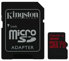Speicherkarte MICROSDHC 32GB Klasse 10 UHS-I (U3) V30 A1 Mit SD Adapter Kingston