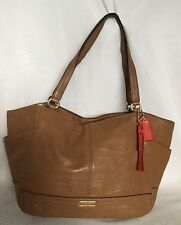 Large COACH Tan Leather Tote/Shoulder Bag / Handbag