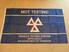 MOT testing station garage workshop flag banner Nissan Renault Mini Peugeot