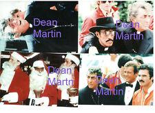 DEAN MARTIN SAMMY DAVIS FRANK SINATRA BURT CANNONBALL RUN SET OF 4 PHOTOS LOT