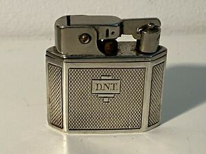 Sterling Silver Automatic Petrol Lighter Hallmarked HCB