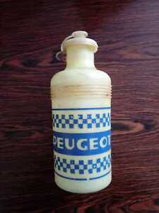 Vintage '77 Peugeot cycling bottle bidon Tour de France Thevenet Merckx Colnago